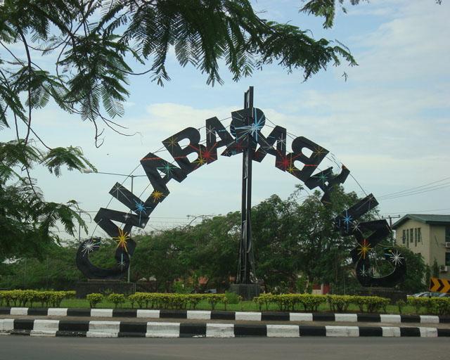 the calabar calabar roundabout in calabar