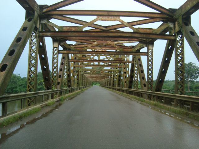 Ikom bridge in cross river state nigeria